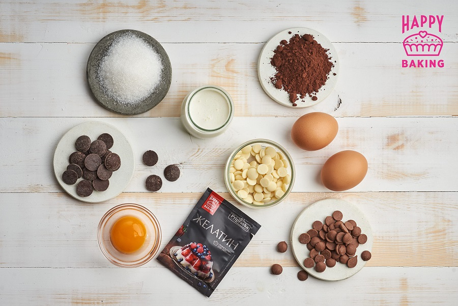 три шоколада, три шоколада рецепт, десерт три шоколада, три шоколада лиза глинская, три шоколада пошаговый рецепт
