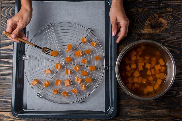 цукаты из тыквы, цукаты из тыквы в домашних условиях, цукаты из тыквы рецепт, тыквенные цукаты