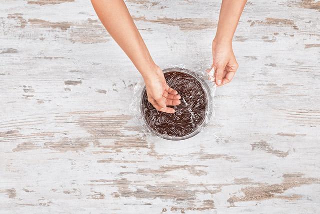 фондан, фондан шоколадный, фондан рецепт, шоколадный фондан рецепт, жидкий фондан